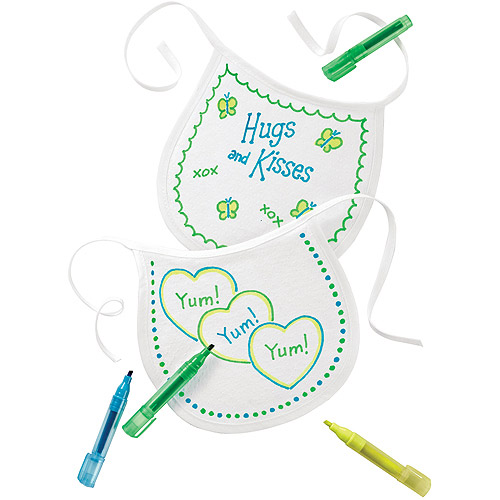 Baby Shower Game Decorate A Bib