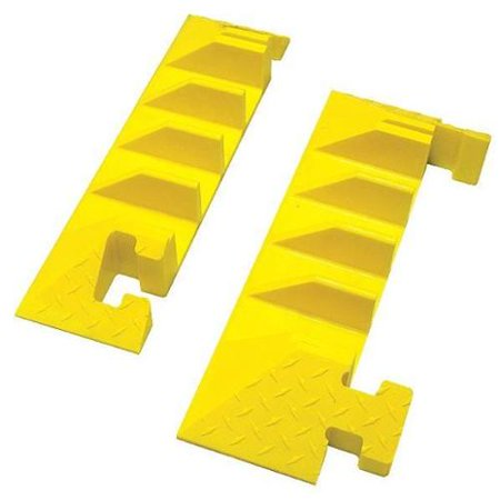 BUMBLE BEE BB4EB-300GM-Y Cable Protector End Cap,4 Channels,PR Bumble Bee Caps