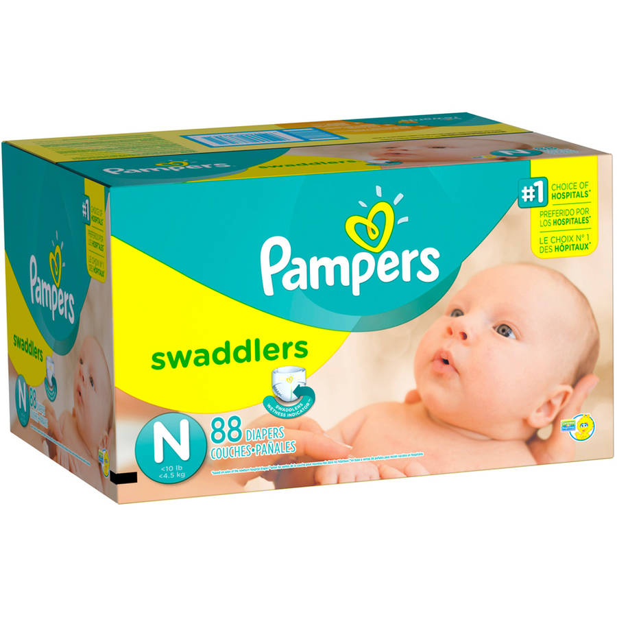 Pampers Swaddlers Diapers, Super Pack, (Choose Your Size)