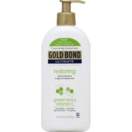 GOLD BOND® Ultimate Restoring with Green Tea & Vitamin C Lotion 13oz - Green Skin