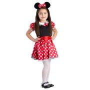 Dress Up America 779-M Charming Miss Mouse Costume, Medium - Age 8 to 10