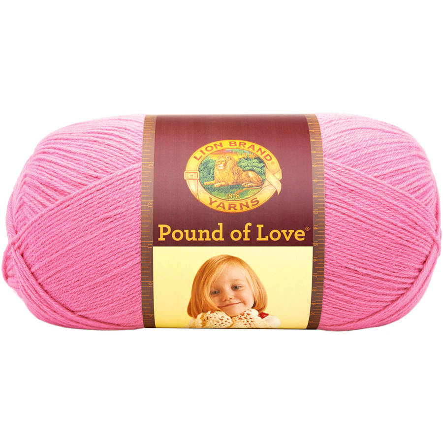 Lion Brand Pound of Love Baby Yarn, Available in Multiple Colors