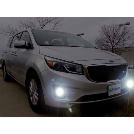 2015 2016 2017 Kia Sedona Limited Fog Lamps Driving Lights Kit