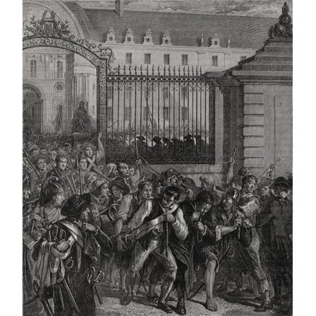 Capture of Weapons From Invalides 14th July 1789 Engraved by Pannemaker-Ligny Poster Print, Large - 26 x 32 - image 1 of 1