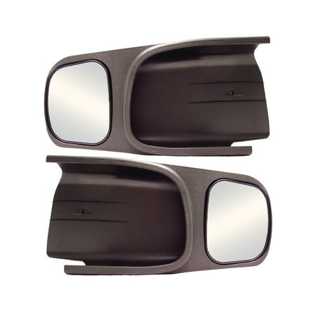 Cipa Towing Mirror - CIPA 10700 Custom Towing Mirror - Dodge, Pair