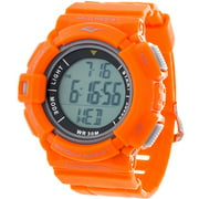 HR4 Heart Rate Monitor Watch with Transmitter Belt, Orange Plastic Band