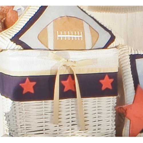 Brandee Danielle All Star Football Decorative Pillow