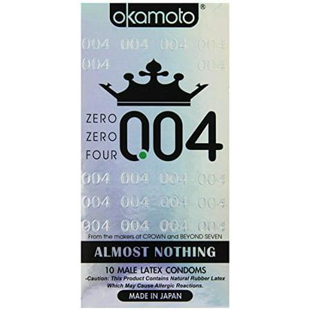 Okamoto 004 Condom 10ct - Condom Costume