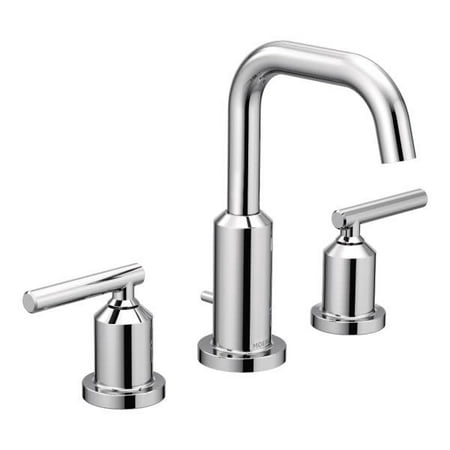 Moen Gibson Chrome Two-Handle Bathroom Faucet