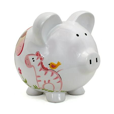 Child To Cherish Jungle Jill Large Piggy Bank Walmart Com
