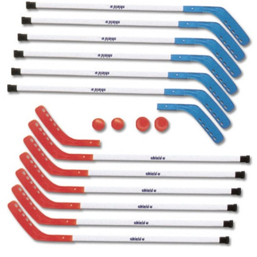 Hockey Stick Replacement Blades Set by Shield - Red/Blue
