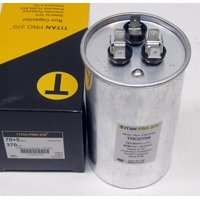 TitanPro TRCD705 HVAC Round Dual Run Capacitor. 70/5 MFD/UF 370 Volts