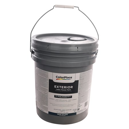 Colorplace Exterior Latex House Paint 5 Gallon Semi Gloss