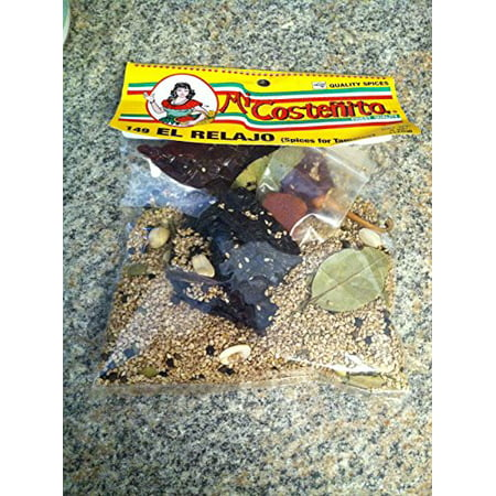 El Relajo Spices For Tamales Quality Spices 6 oz/170g