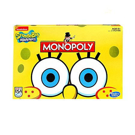 Monopoly Game SpongeBob SquarePants Edition - Spongebob Halloween Day Games