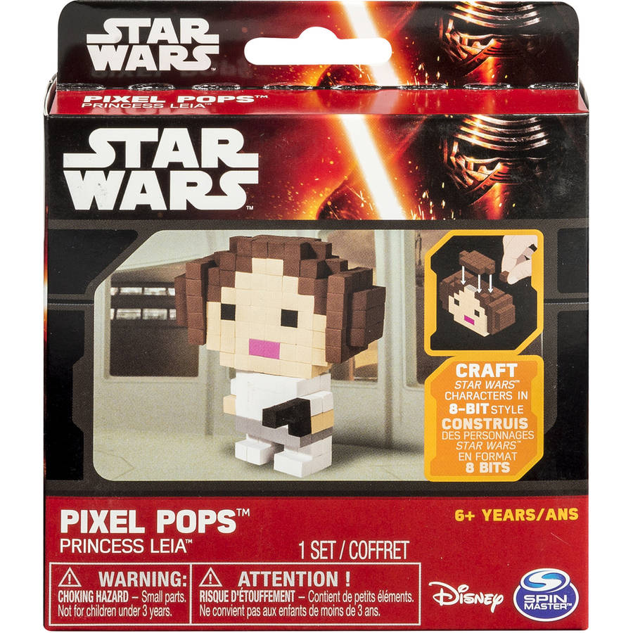 Star Wars Pixel Pops, Princess Leia