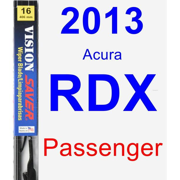 2013 Acura RDX Passenger Wiper Blade