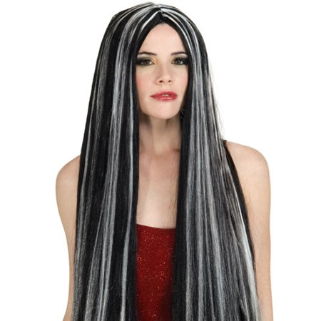 - Costume 36-Inch Streaked Witch Wig