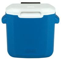 Coleman 16-Quart Performance Cooler with Wheels, Blue