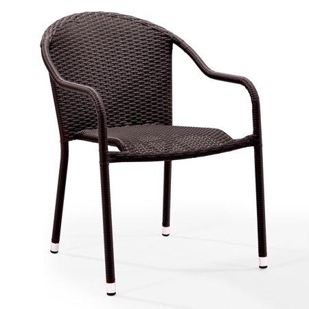Crosley Furniture Palm Harbor Outdoor Wicker Stackable