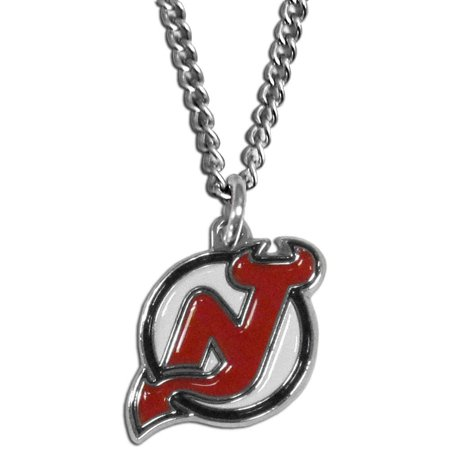 New jersey devils chain necklace chrome pendant f walmart new jersey devils chain necklace chrome pendant aloadofball Image collections