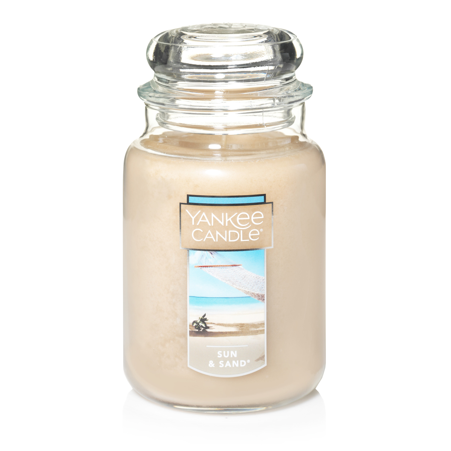 Yankee Candle Large 2-Wick Tumbler Candle, Sun & Sand by Newell Brands
