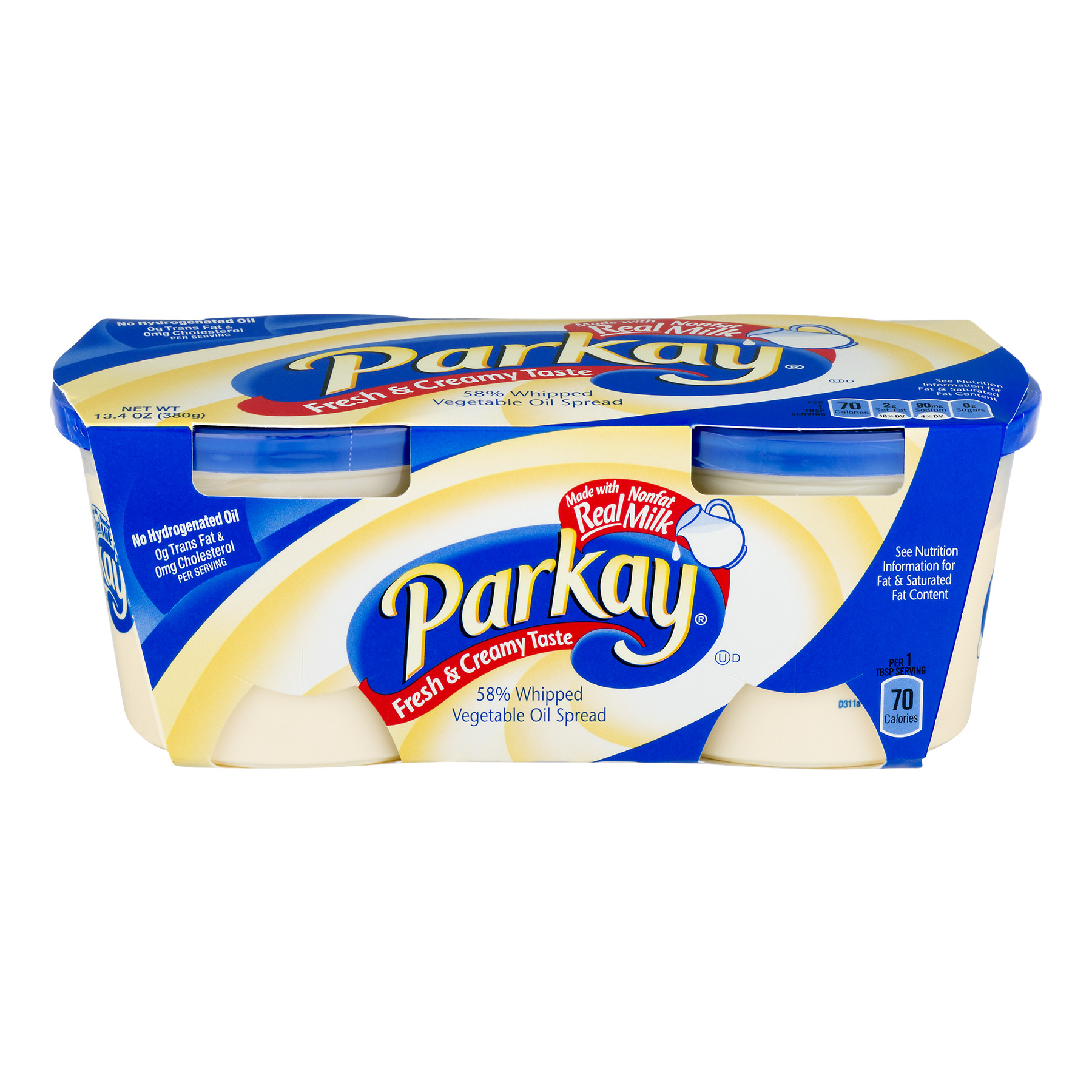 Parkay 58% Vegetable Oil Spread, Whipped, 13.4 Oz.