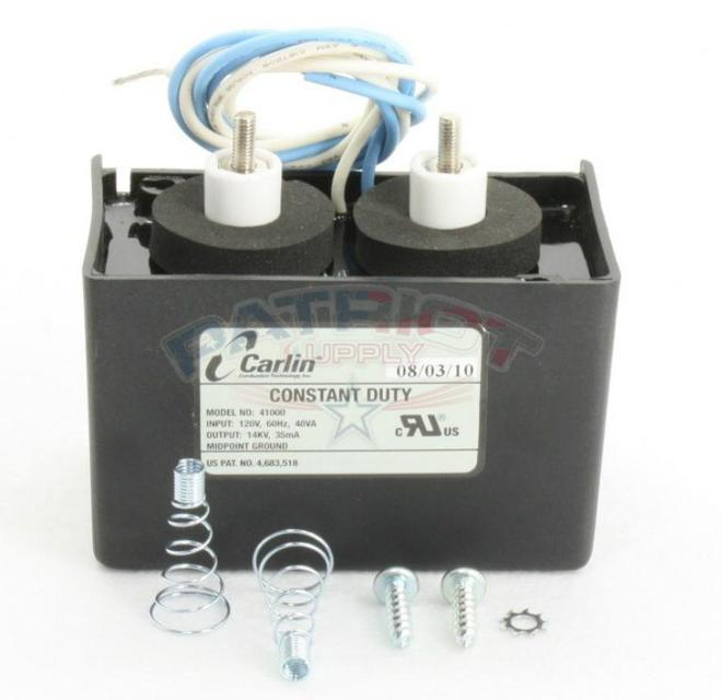 Carlin 41000 120V Electronic Oil Burner Ignitor Only (No Base Plate)