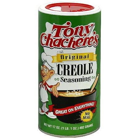 Tony Chacheres Original Creole Seasoning  17 Oz  Pack Of 6
