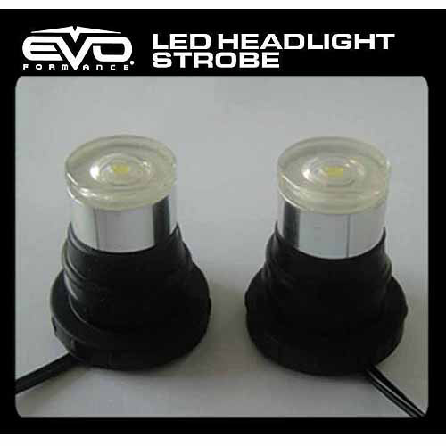 CIPA Red LED Headlight Strobes, 3W