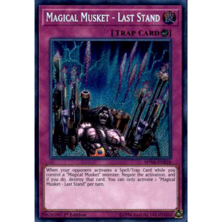 YuGiOh Spirit Warriors Magical Musket - Last Stand - Toy Muskets