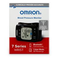 Omron 7 Series Wireless Bluetooth Wrist Blood Pressure Monitor (Model BP654)