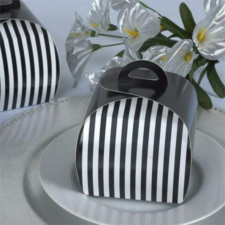 Striped Favor Box - BalsaCircle 10 pcs 3.5