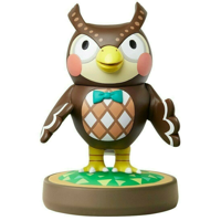 Blathers Nintendo Amiibo Figure Animal Crossing Series Figure