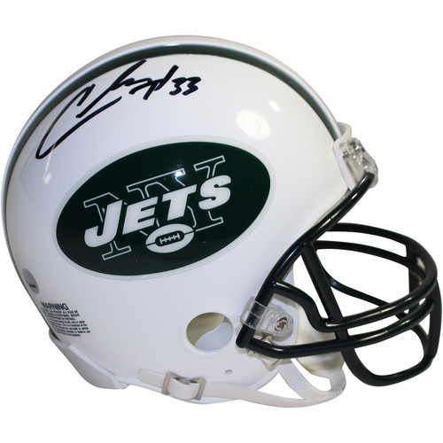 Steiner Sports Decorative Chris Ivory Signed New York Jets Mini Helmet