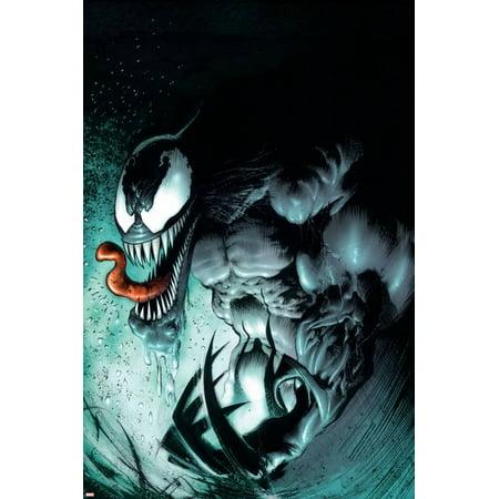 Marvel Extreme Style Guide: Venom Comics Print Wall Art ()