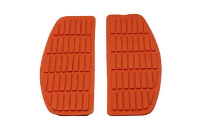 Footboard Orange Mat Set,for Harley Davidson,by V-Twin