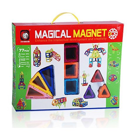 Magical Magnet Building Learning Toy Creative Construction Shapes for ALL Kids](Kids Learning Toys)