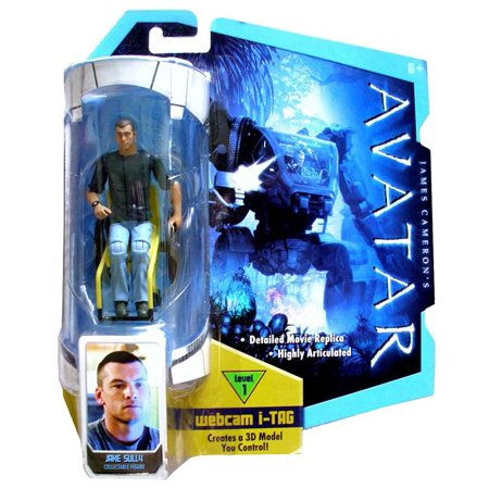 James Cameron's Avatar Jake Sully Action Figure [Crewcut] (Jake Sully)