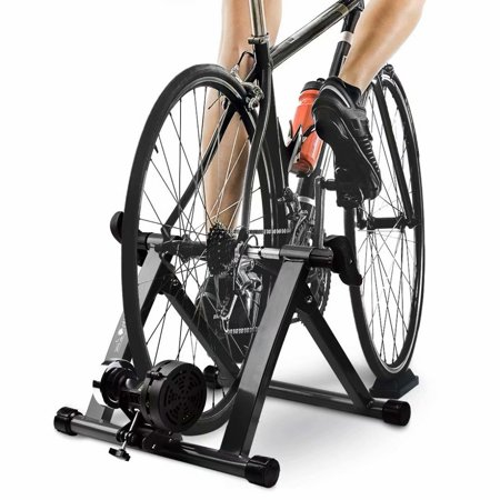 Turbo Bike Trainer, Heavy Duty Stable Riding Stand Supports 350lbs Indoor Bicycle Trainer Fits 26-28