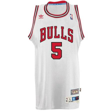 John Paxon Chicago Bulls Adidas NBA Throwback Swingman Jersey White by