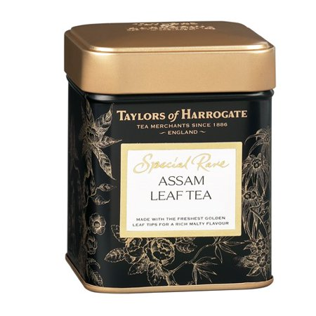 Taylors of Harrogate Special Rare Assam Leaf Tea Tin, 3.5