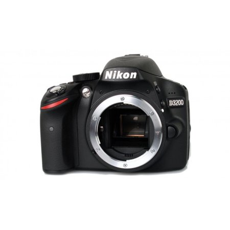 Nikon DSLR D3200 Camera Body Only - Black (Nikon Cameras D3200)