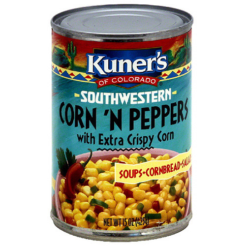 Kuner's Southwestern Extra Crispy Corn N Peppers, 15 oz (Pack of 12)