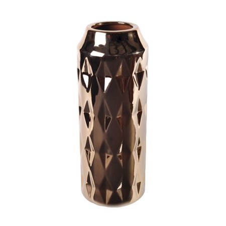 Lerman Decor Gold Cylinder Vase Walmart