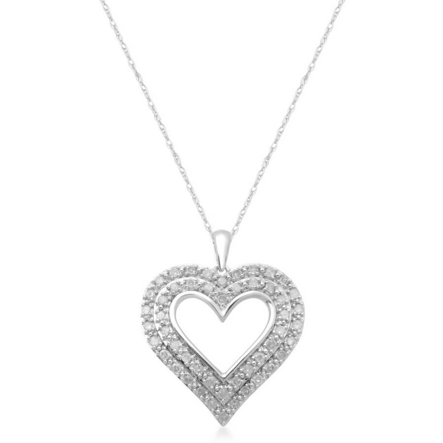 1 ct .T.W. Diamond Fashion Heart Pendant