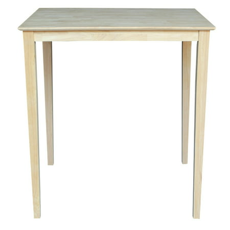 Solid Wood Top Table, Shaker Legs ()