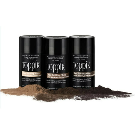 Toppik Hair Building Fibers - Dark Brown 12g
