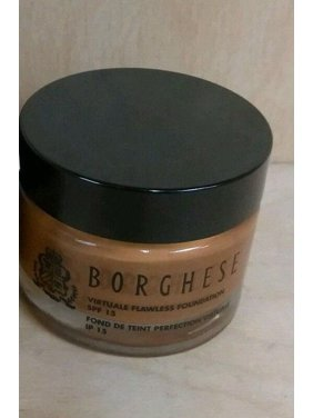 Borghese Virtuale Flawless Foundation Fond de Teint Sienna 08 1.5 oz. NO BOX