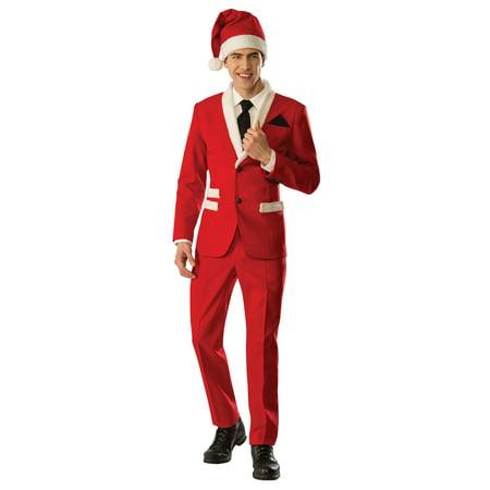 Mens Santa Tuxedo Costume - Costume Tuxedo Jacket With Tails